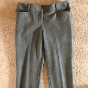 Express Gray Checkered Barely Worn Pants